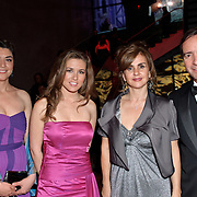 Adriana Jauregui, Paulina Valencia, Carolina Fermandoies and Arturo Fermandoies