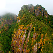 Victoria peak in the clouds, Victoria Peak National Park, Stann Creek District, Belize