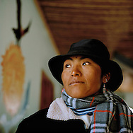 Gabriela. Warmi Sayajsungo is a women«s organization based in Argentina that helps women become self-sufficient. Rosario Quispe, who has seven children, and is the wife of an unemployed miner, founded the organization of indigenous Coya in 1995, called Warmi Sayajsungo, which in quechua means Women's Perseverance. Rosario had an ambitious dream for the Coya people who lived high on the arid plateau where Argentina and Bolivia meet, in the shadow of the Andes.That dream was that one day they would live in dignity on the fruits of their own work.They are taught skills and given micro credits to help their small businesses prosper.Each person photographed has their own story to tell about their life now and how the organization changed their lives for the better.