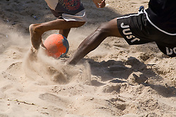 Futebol de praia na Bahia / Beach soccer in Bahia