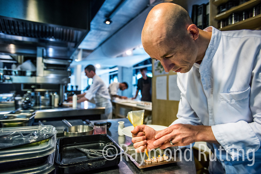 Netherlands -Amsterdam -Luc Kusters, Chef of Bolenius restaurant in Amsterdam . Frontman of the Dutch Cuisine . photo raymond rutting