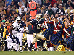 Oct. 16, 2005; South Bend, IN, USA; Notre Dame Fighting Irish Brigham Young University Cougars Saturday Oct. 22 at Notre Dame Stadium. Mandatory Credit: Photo By Matt Cashore