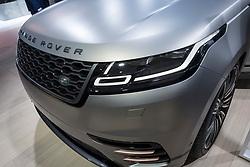 at 87th Geneva International Motor Show in Geneva Switzerland 2017