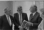 1989 - President Hillery Receives New Publication.
