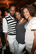 Chris Chambers, Mashariki Williamson and Isolde Brielmaier at The Giant Magazine Party, celebrating cover girl Kimora Lee Simmons and new Editor-in-Chief Emil Wilbekin, the award-winning editor as he unveils his debut issue.