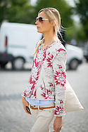 Floral Quilted Jacket, Otuside Dior Couture