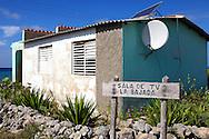 The TV room for La Bajada, Pinar del Rio, Cuba.