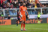 Genova - 28.11.2016 - Serie A - 14a giornata - Genoa-Juventus - Nella foto: Gianluigi Buffon deluso dopo il gol