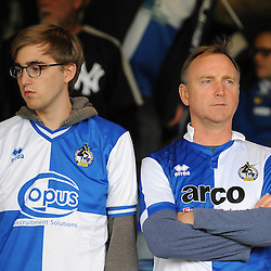 Fans - Mandatory byline: Neil Brookman/JMP - 07966386802 - 18/08/2015 - FOOTBALL - Kenilworth Road -Luton,England - Luton Town v Bristol Rovers - Sky Bet League Two