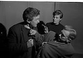 "1964 - Rehearsal of ""La Fheile Mhicil"" at Damer Hall Theatre, Dublin"