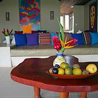 Central America, Costa Rica, Playa Esterillos Este. Alma Del Pacifico Hotel room.