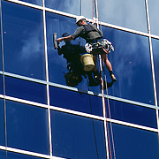 Office window cleaner.<br />