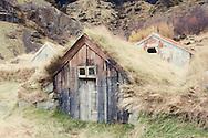 Abandoned farm at Nupstathur, Iceland