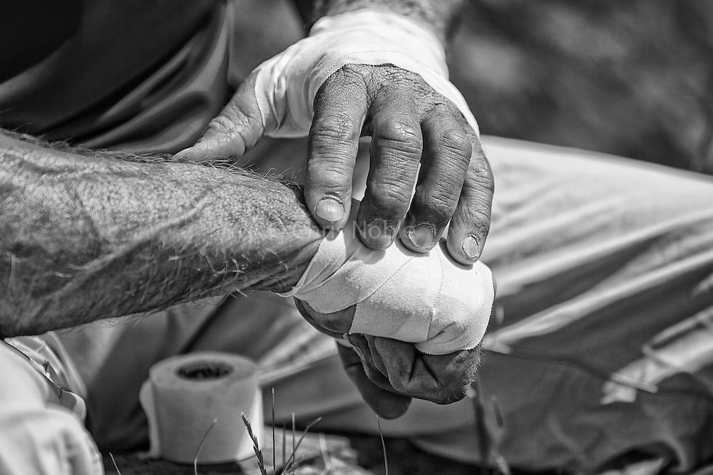 Jay Smith Climber Climber Jay Smith Taping His