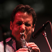 Eric Marienthal a Grammy Award-winning Los Angeles-based contemporary saxophonist performs during the 27th DuPont Clifford Brown Jazz Festival Saturday, June 20, 2015, at Rodney Square in Wilmington, Delaware.