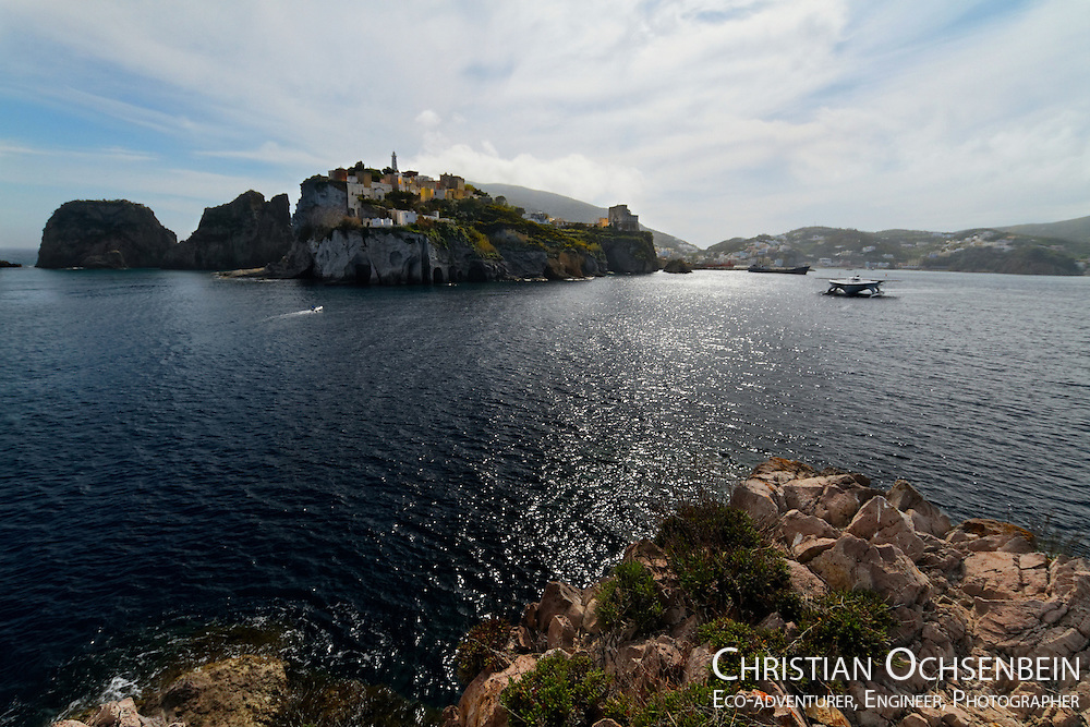 how to get to ponza from rome