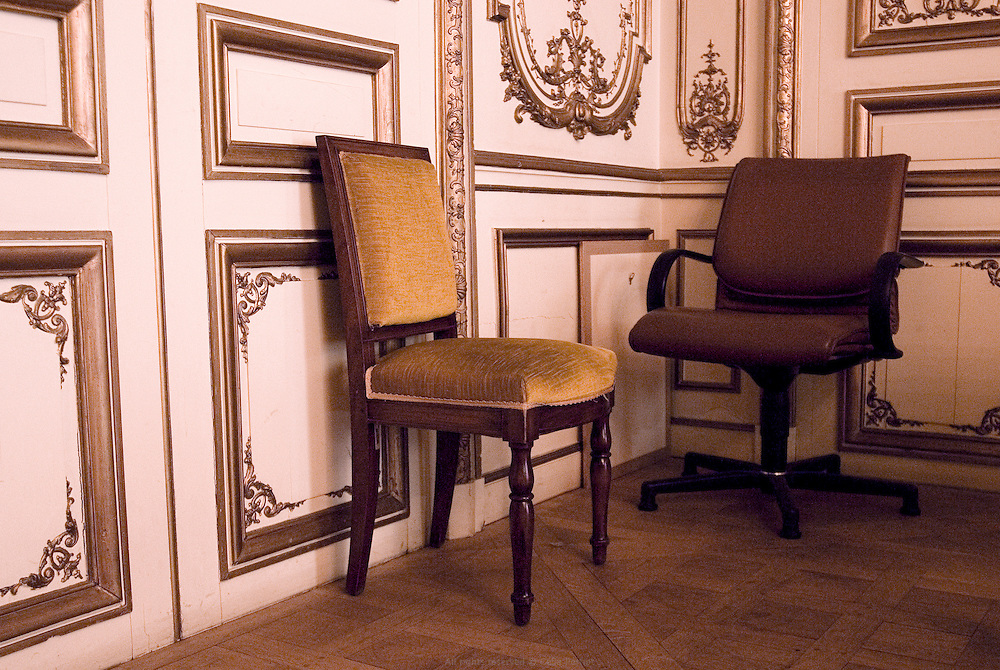 Salle de réunion, Conseil Régional d'Ile de France.
