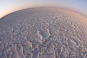 Dry Salt Pan<br /> Makgadikgadi Pans, Kalahari Desert<br /> Northeast BOTSWANA<br /> One of the largest salt flats in the world