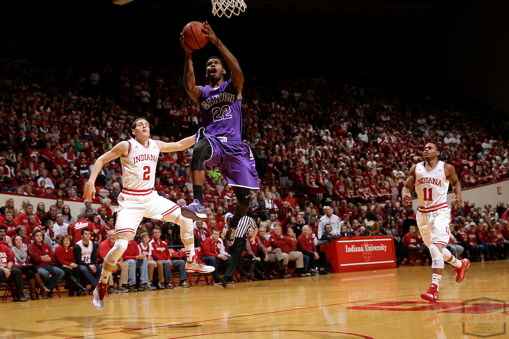 Grand Canyon guard Royce Woolridge as Grand Canyon played Indiana in an NCAA college basketball game in Bloomington, Ind., Saturday, Dec. 13, 2014. (AJ Mast/Photo)