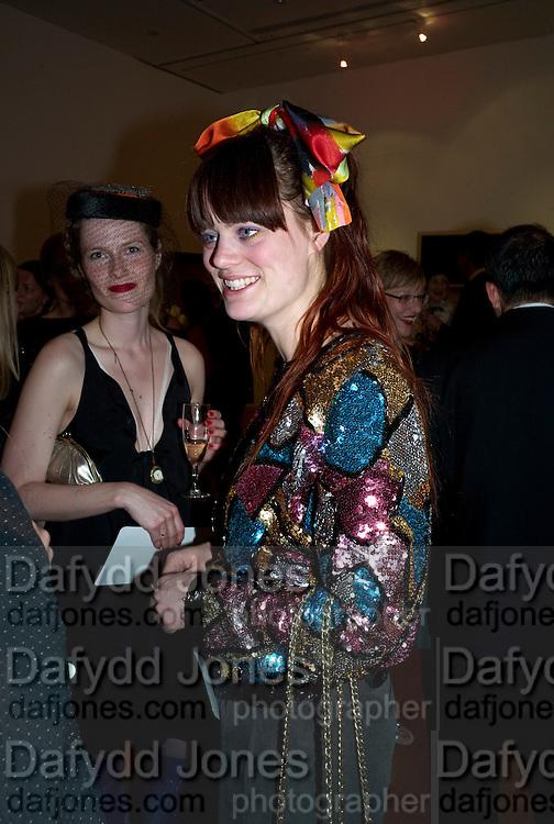 LOUISE LANGKILDE; VIBE LUNDEMARK, The Royal College of Art Fashion Gala. Kensington Gore. London. 11 June 2009.