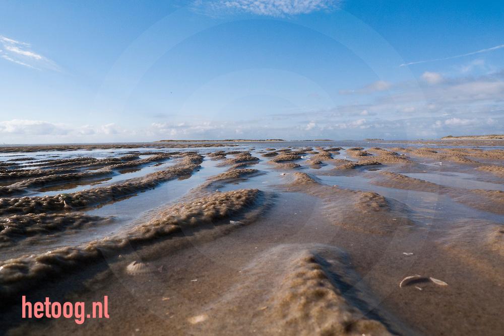 nederland, terschelling 14okt2014 Strand, kust ,zee bij /van Terschelling waddeneiland. fotografie Cees Elzenga Hollandse Hoogte