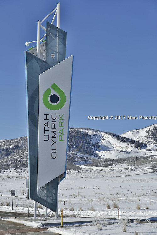 SHOT 3/2/17 9:40:11 AM - Park City, Utah lies east of Salt Lake City in the western state of Utah. Framed by the craggy Wasatch Range, it's bordered by the Deer Valley Resort and the huge Park City Mountain Resort, both known for their ski slopes. Utah Olympic Park, to the north, hosted the 2002 Winter Olympics and is now predominantly a training facility. In town, Main Street is lined with buildings built primarily during a 19th-century silver mining boom that have become numerous restaurants, bars and shops. (Photo by Marc Piscotty / © 2017)