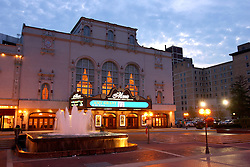 Morris Performing Arts Center, downtown South Bend, IN.<br /> <br /> Photo by Matt Cashore