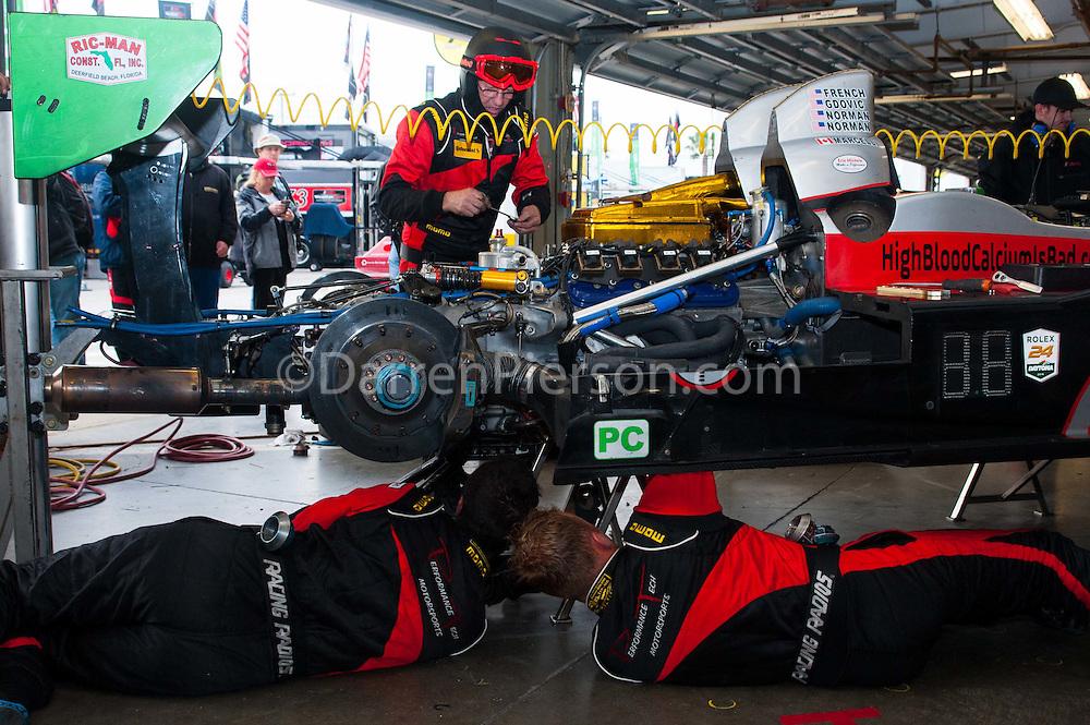 #38 Performance Tech Motorsports ORECA FLM09: James French, Kyle Marcelli, Brandon Gdovic, Jim Norman, Josh Norman