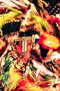 Powwow, kids, Fancy Dancer, American Indian Council Powwow, Montana State University, Montana.