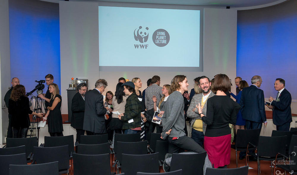 Inaugural WWF Living Planet Lecture at The Royal Society, London. 3/11/2016