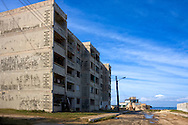 Apartment building in Mariel, Artemisa, Cuba.