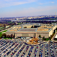 The Pentagon before 9/11, before the ADIZ no fly zone was put into effect.  General Aviation is now unable to fly in this area.   1998