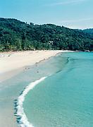 Waves break on Kata Noi Beach