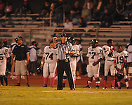 Official Billy Smith at Oxford High vs. Lake Cormorant in Oxford, Miss. on Friday, October 5, 2012. Oxford High won 26-0.