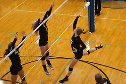 Abby Hamilton during the Kuna Klassic volleyball tournament at Kuna High School, Kuna, Idaho, August 29, 2015.