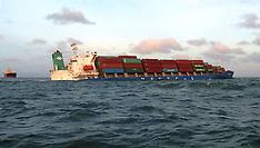 NOV 08 2013 Sinking South Korean container ship