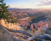 0302-1020 ~ Copyright:  George H. H. Huey ~ Sunrise from Bryce Point, with a view of Bryce Amphitheatre.  Bryce Canyon National Park, Utah.