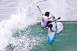 HUNTINGTON BEACH, California/USA (Saturday, August 7, 2010) - Miguel Pupo of Brazil rips a wave at US Open of Surfing Round 16 Heat 2.
