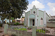 Church in Buenaventura, Holguin, Cuba.