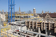 March 2012: Pembroke College Brewer Street Project