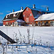 A collection of Barns that still can be seen while traveling the countryside in  the beautiful State of Wisconsin.<br /> Vilas County-Big Barnshop and Farmstead Kitchen Shoppe on Hwy 45 in Eagle River.