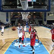 NBA D-LEAGUE BASKETBALL 2015 - JAN 09 - Delaware 87ers defeats Grand Rapids Drive 107-103