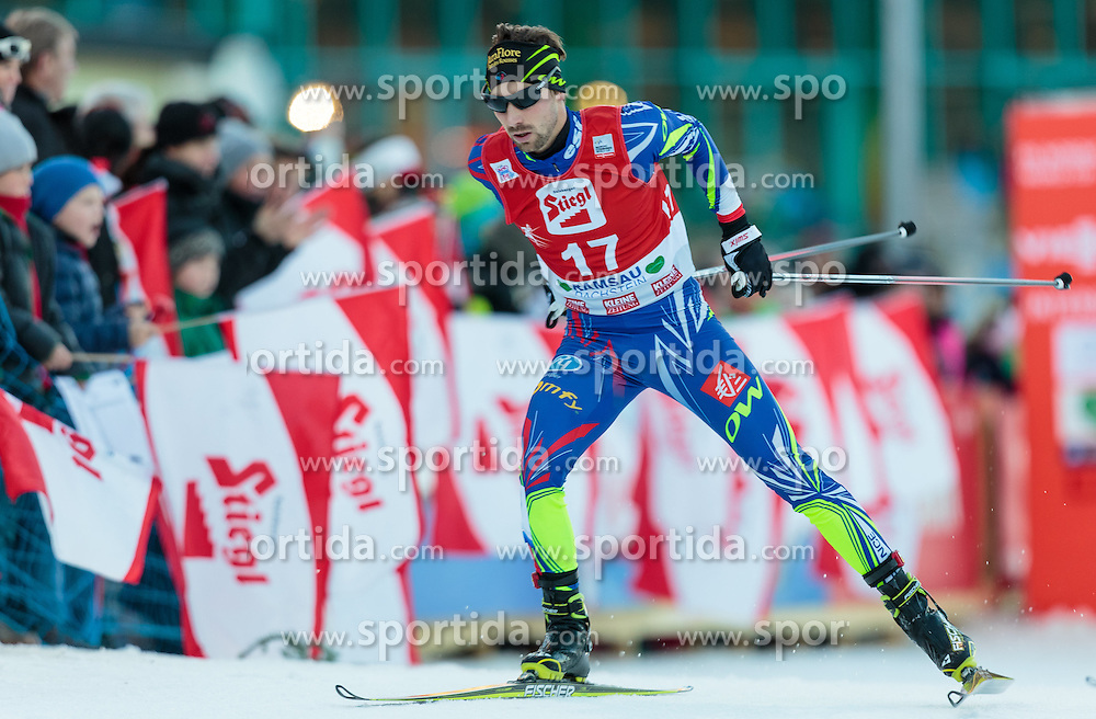 20.12.2015, Nordische Arena, Ramsau, AUT, FIS Weltcup Nordische Kombination, Langlauf, im Bild Maxime Laheurte (FRA) // Maxime Laheurte of France during Cross Country Competition of FIS Nordic Combined World Cup, at the Nordic Arena in Ramsau, Austria on 2015/12/20. EXPA Pictures © 2015, PhotoCredit: EXPA/ JFK