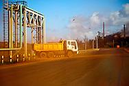 Truck in Moa, Holguin, Cuba.