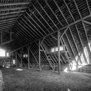 The architecture of old barns, truly unique.