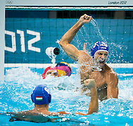 HOSNYANSZKY Norbert hHungary.Italy Vs. Hungary ITA-HUN.Water Polo Men Quarterfinal.London 2012 Olympics - Olimpiadi Londra 2012.day 13 Aug.8.Photo G.Scala/Deepbluemedia.eu/Insidefoto