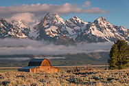 Built over a century ago by John Moulton, this barn is now one of the most photographed landmarks in America.