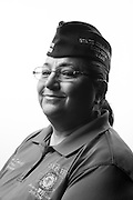 Sylvia C. Sanchez<br /> Army<br /> Colonel (O-6)<br /> Nurse<br /> Dec. 1967 - Nov. 2008<br /> Desert Storm<br /> <br /> Veterans Portrait Project<br /> Louisville, KY<br /> VFW Convention <br /> (Photos by Stacy L. Pearsall)