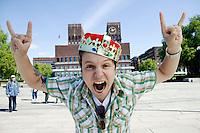 OSLO, 20060606; Nicholas Carlie leder topp 20 fra Oslo Rådhus i sommer. FOTO: TOM HANSEN