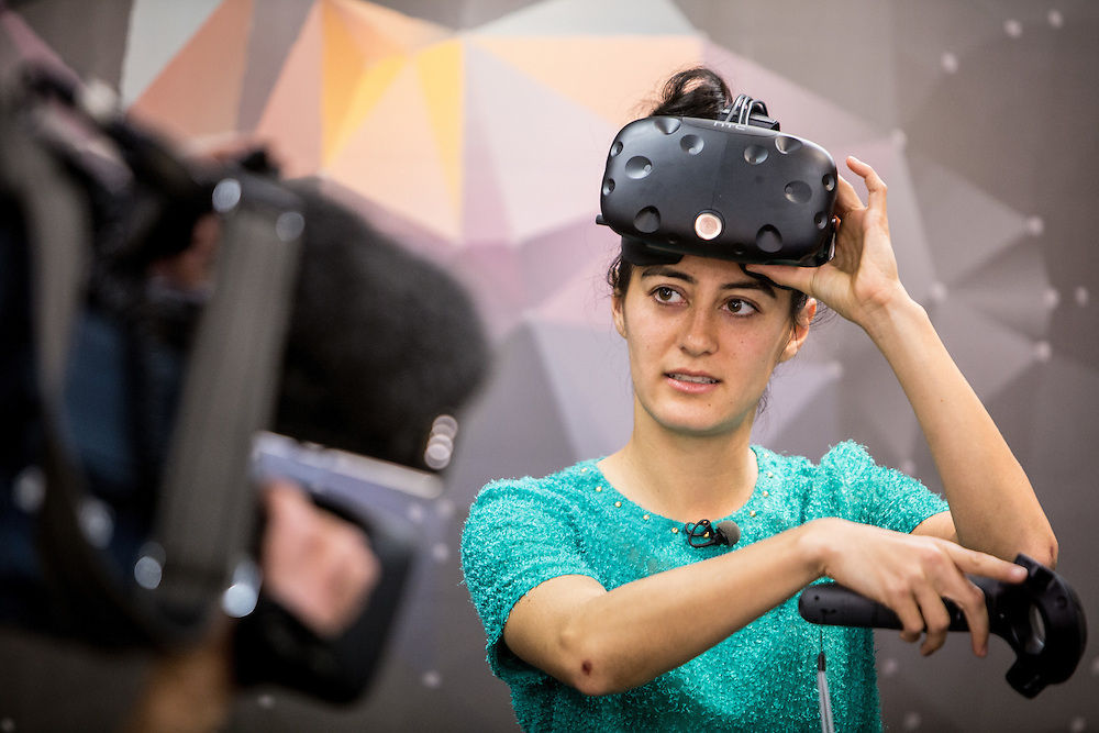 AR/VR facility opening. Auckland. 2 September 2016 Photo:Gareth Cooke/Subzero Images